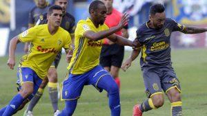 La Palmas contra el Cádiz CF